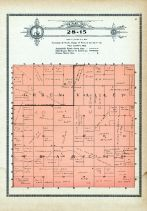 Township 28 Range 15, Green Valley, Francis, Holt County 1915